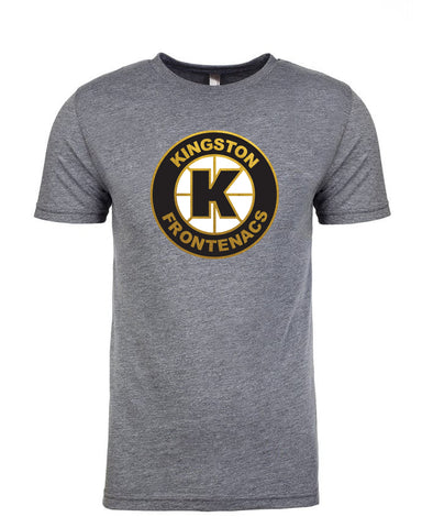 Kingston Frontenacs Grey Vintage T-Shirt