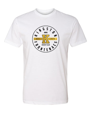 Kingston Frontenacs White Circle T-Shirt