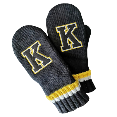 Kingston Frontenacs Mittens