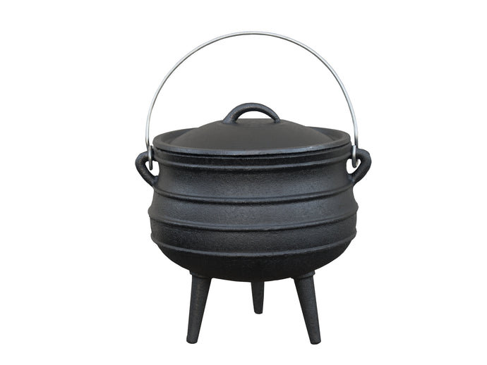 Cast Iron Kettle with Legs - Multiple Sizes From