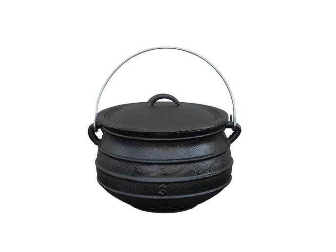 Flat Bottom Cast Iron Kettle - Multiple Sizes From