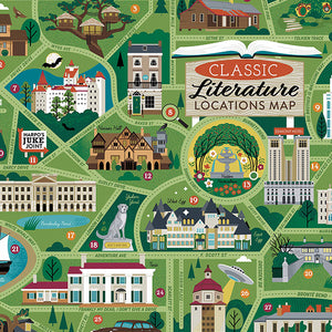 Classic Literary Locations Puzzle