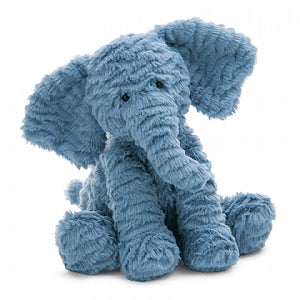Jellycat Blue Elephant Fuddlewuddles