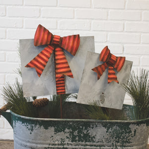 Galvanized/Rust Red Gifts