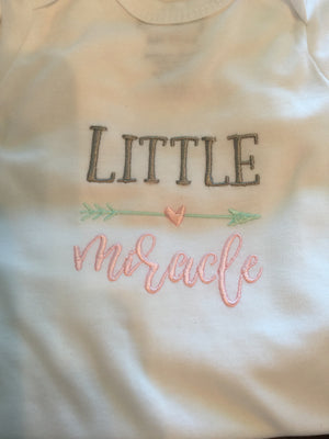 little miracle Love Bug - Baby Gown