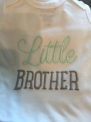 Little brother Love Bug - Baby Gown