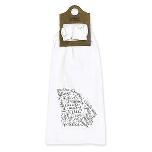 GA Flour Sack Tea Towel