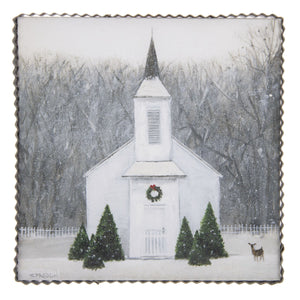 Winter Church Wall Art