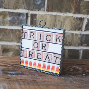 Gallery Trick or Treat Candy Art