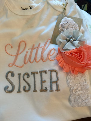 Little sister Love Bug - Baby Gown