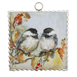 Fall Chickadee Wall Art