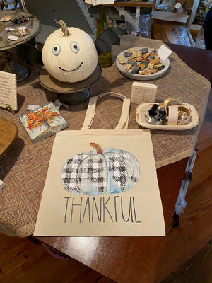 Thankful Pumpkin Tote