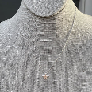 Star necklace WH224