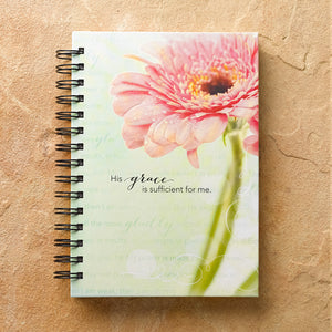 His Grace is Enough Wire Bound Journal