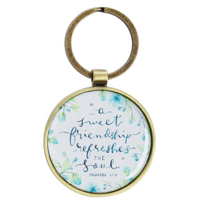 Sweet Friendship Keyring