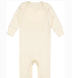 Rabbit Skins Infant Baby Rib Coverall (Onzie)