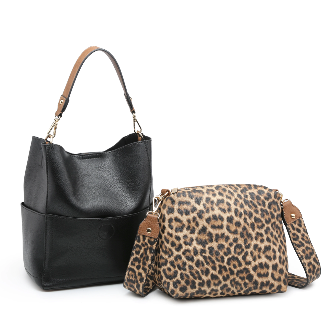 Abby Bucket Bag with Accent Bag in a Bag