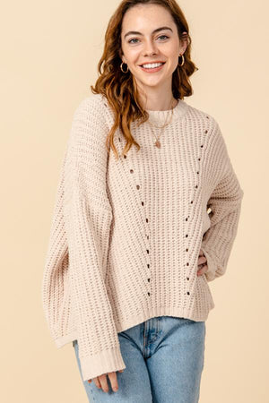 Super Soft, Super Cozy Sweater in Sand