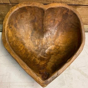 Hand crafted Heart Bowl, approx.
