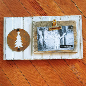 Rustic Picture Clipboard Display
