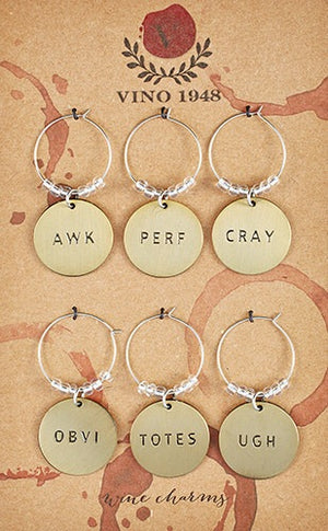 Wine Charms- Personalities