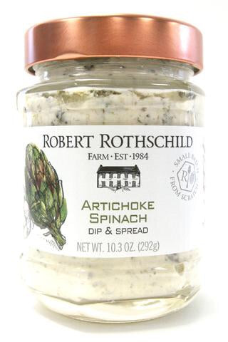 The subtle flavor of artichokes, aged Romano cheese, baby spinach and garlic is outstanding.
