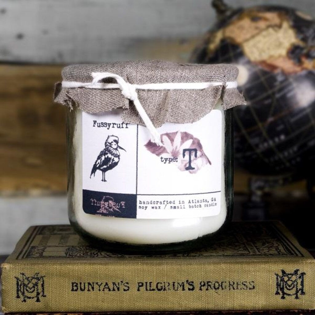 Fussyruff • Authentic Atlanta Goods   Small Batch Soy Wax Candles that bring out emotions, create a sense of nostalgia, or even set a mood.
