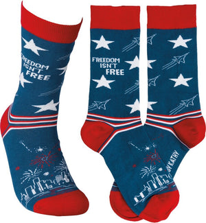 "Socks - ""Freedom Isn't Free"""