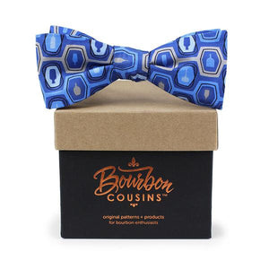 Bourbon Fest© Bow Tie | Royal Blue + Gray