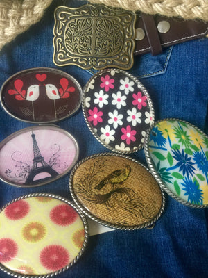 Princess & Butch - Belt Buckles