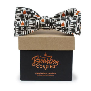 Retro Bourbon© Bow Tie | Black + Copper