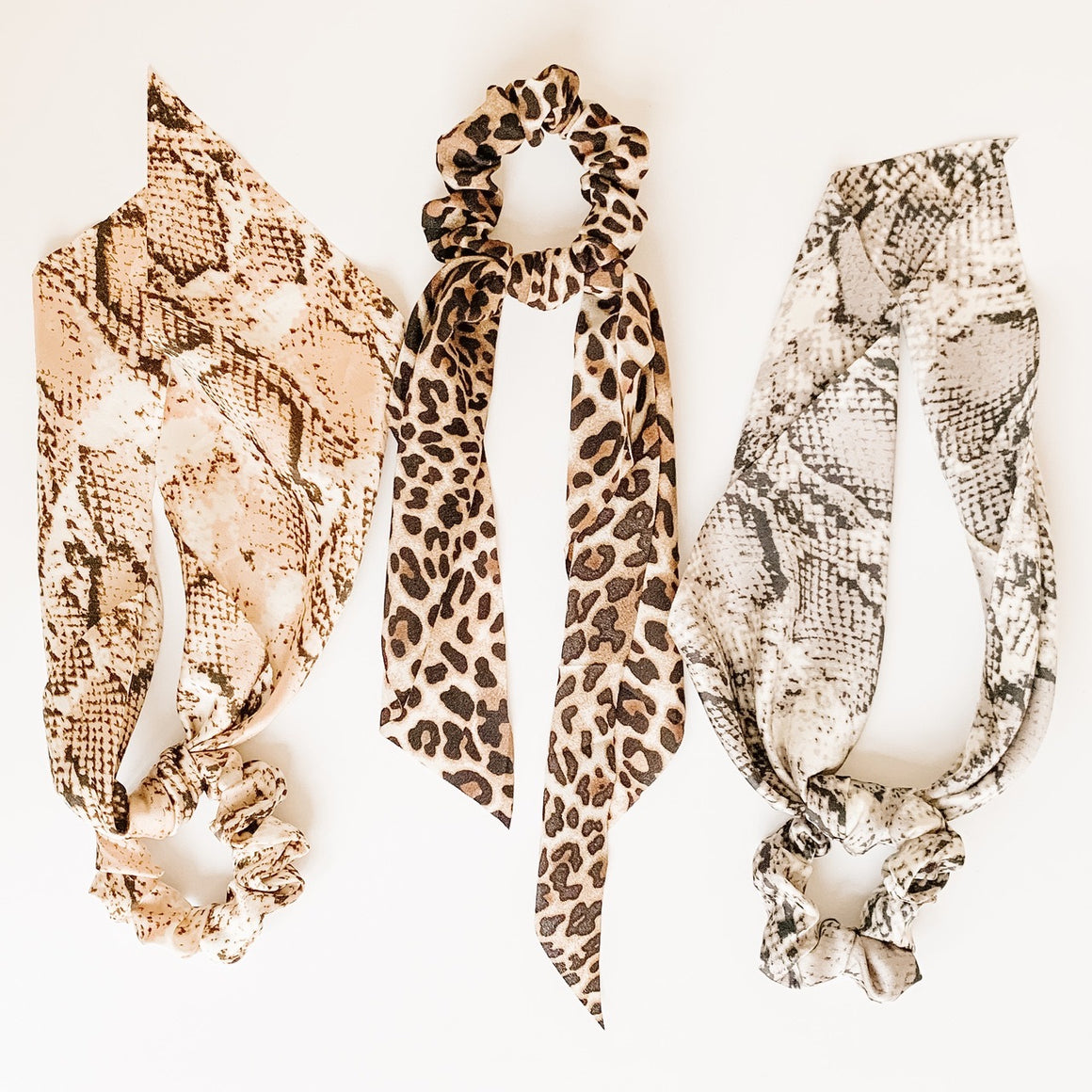 Long Tail Scarf Scrunchies