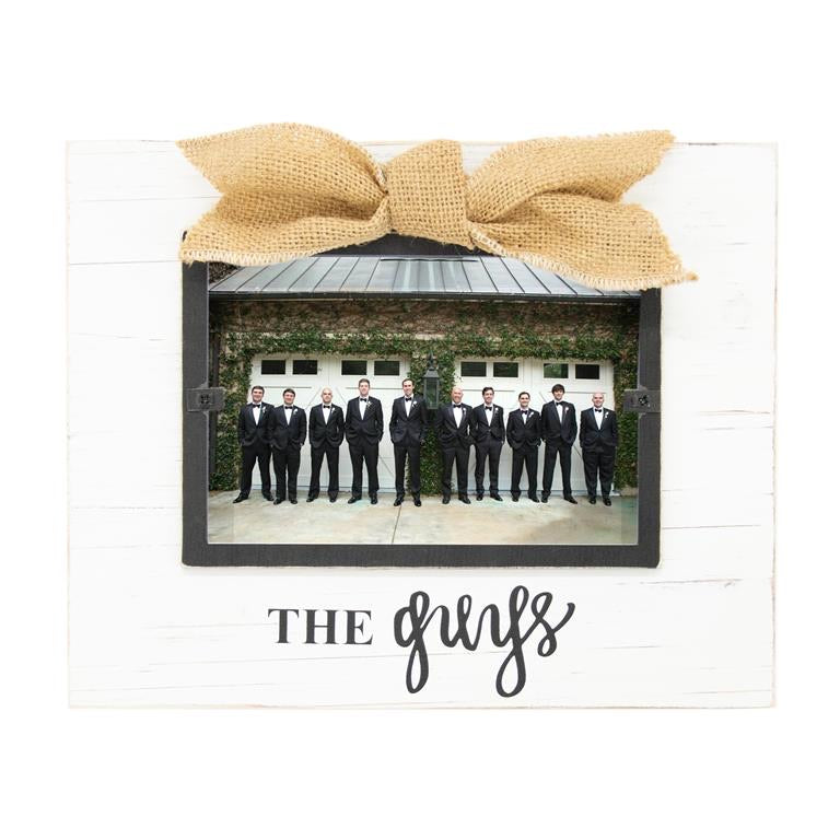 The Guys Bridal Party Frame