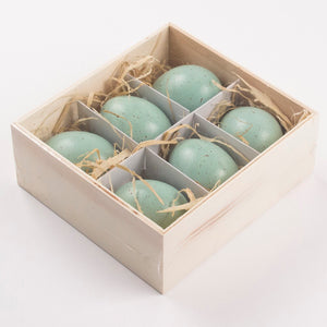 Decorative Speckled Egg Set of 6