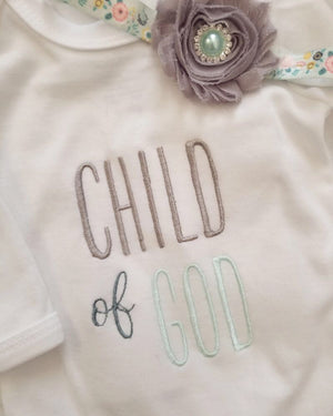 Child of God Love Bug - Baby Gown