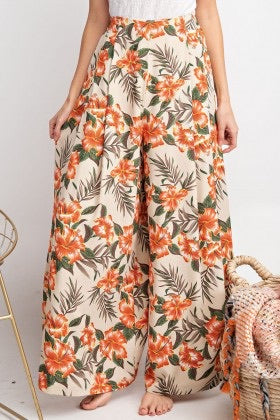 Tropical Vibes Tulip Pants