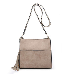 Lyla Guitar Strap Bucket Bag