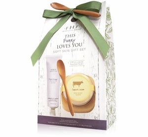 FHF - Fine Body Scrub and Shea Butter Hand Cream Gift Set