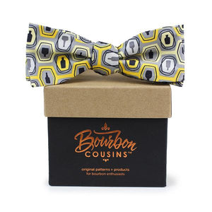 Bourbon Fest© Bow Tie | Gold + Gray