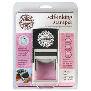 Three Designing Women - Self-Inking Stamper