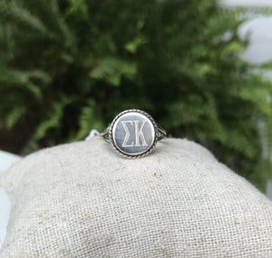 Sterling Silver Engrave-able Rings