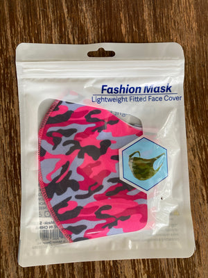 Lightweight Fitted Face Masks