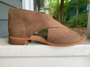 Venice Taupe Leather Bootie