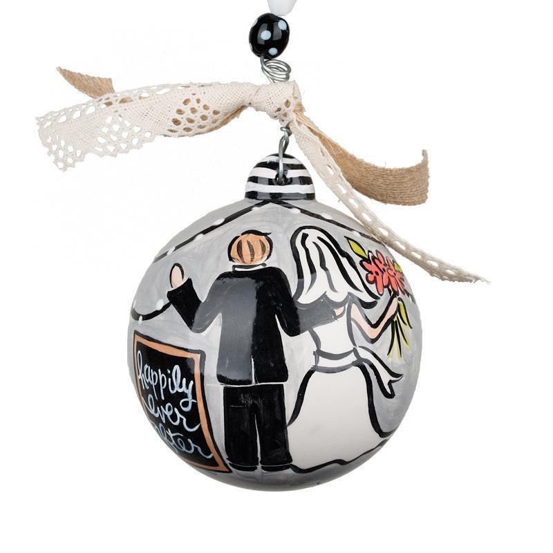Ornament - Happily Ever After - with personalization