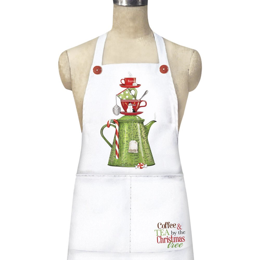 Coffee Tree apron