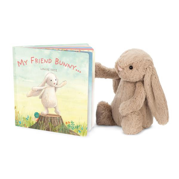Best friends forever. My Friend Bunny is a scrumptious story about a very special pal. Bunny is full of adventure and play, from painting to dress-up to craft and singing. A lovely tribute to friendship and fun, illustrated in beautiful colours. Celebrate real and imaged buddies, with this gorgeously giftable book. Plush not included, sold separately.