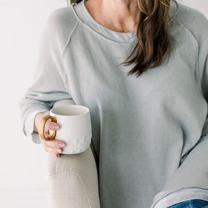 Clare Comfy & Lightweight Pullover with a little pizazz