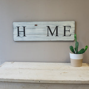 "HOME Sign With Interchangeable ""O"""