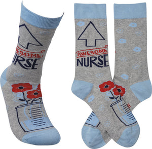 Socks - Awesome Nurse