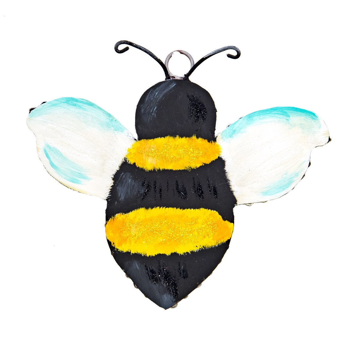 "Bumble Bee Charm with Grommet (9"" x 1"" x 7.5"")"